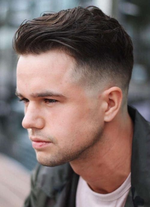 haircuts for men with round faces