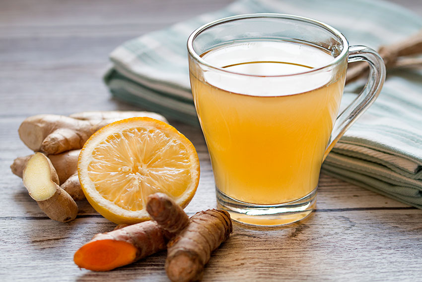 is ginger good for colds
