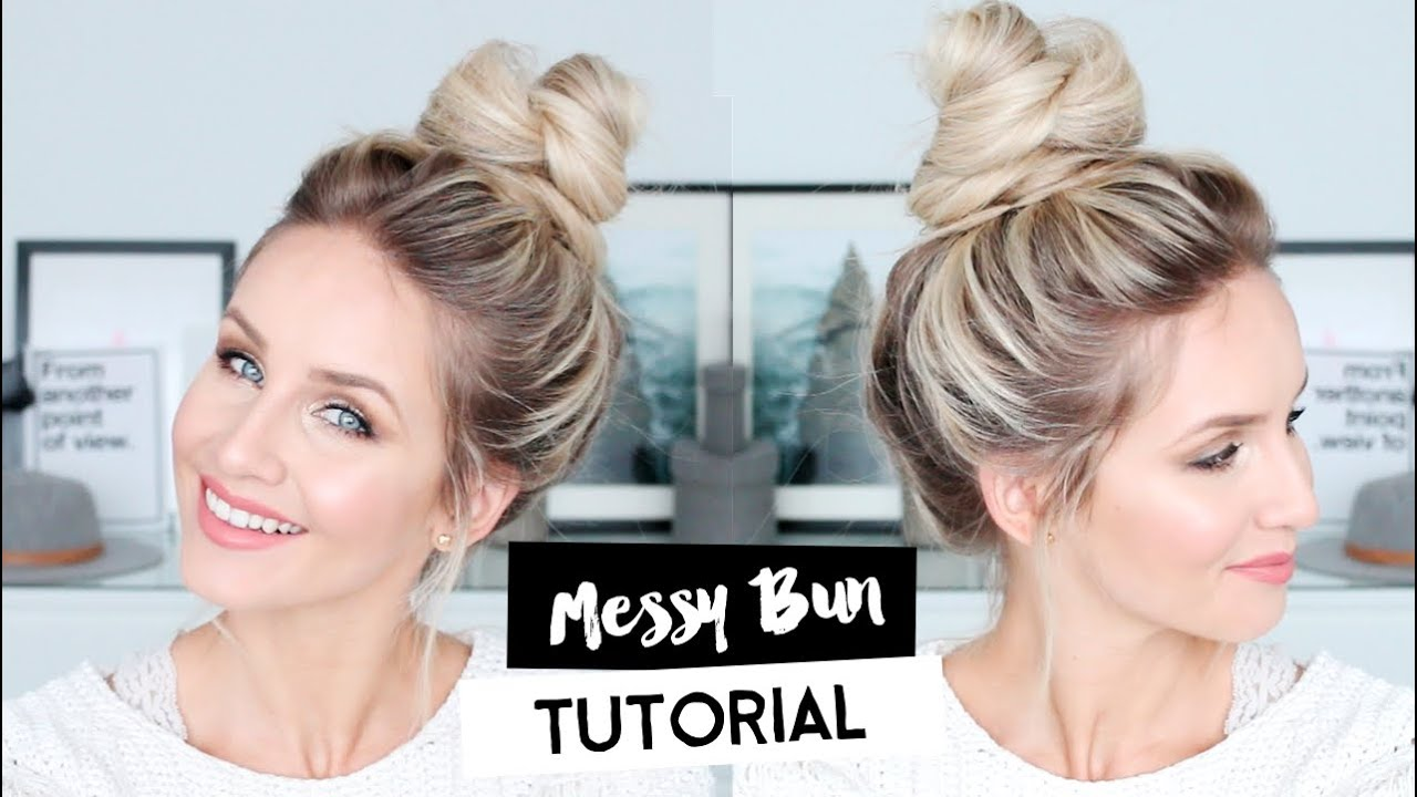 how to do a cute bun