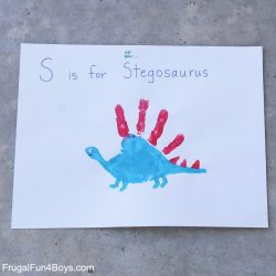 dinosaur crafts for preschoolers