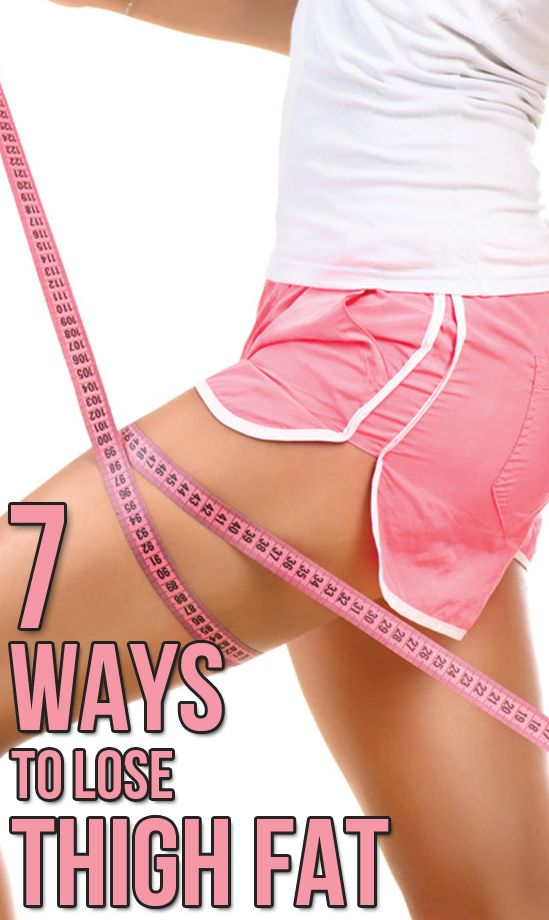 get rid of inner thigh fat