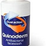 quinoderm antibacterial face wash