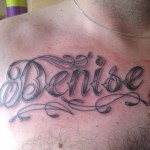 name tattoos for men