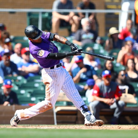 Baseball: World Baseball Classic Exhibion Game-Puerto Rico at Colorado Rockies
