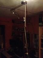 Zerstörte Lampe