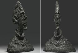 Grande tête mince / Alberto Giacometti