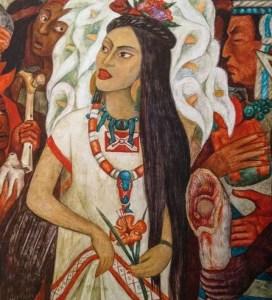 Hija de Moctezuma