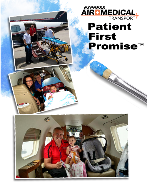 Express Air Medical Transportation Patient First Promise