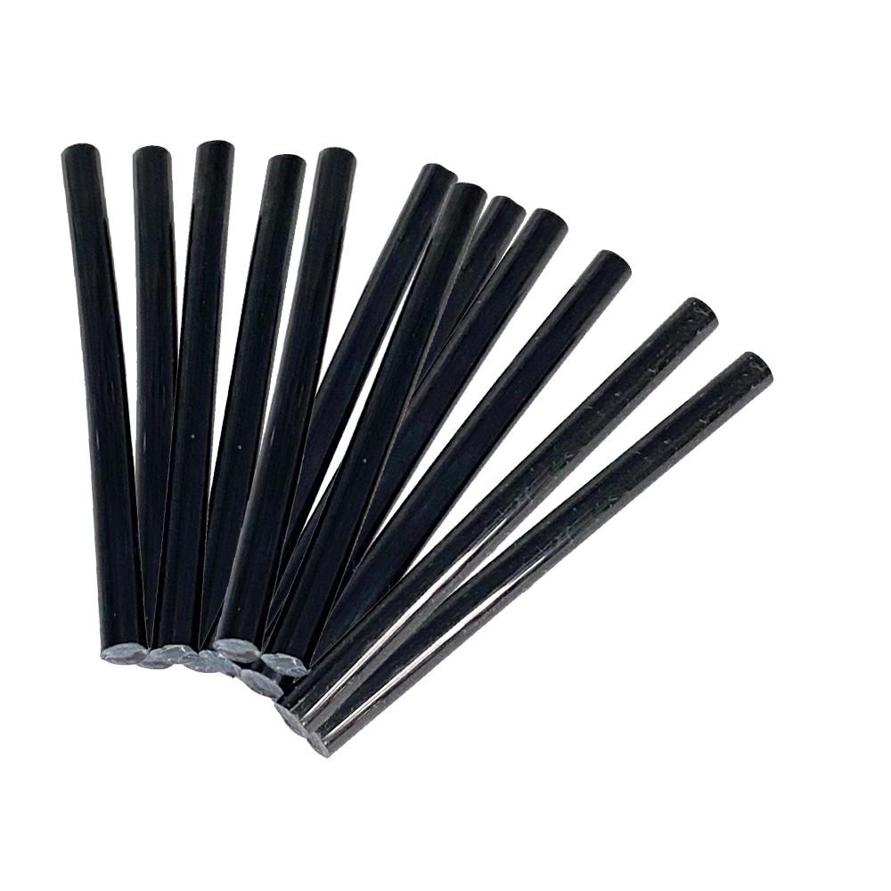 Free Shipping Ebo Fusion Hair Extension Keratin Glue Sticks Hair Bond Adhesive Glue Sticks For Hair Extension 12 Pcs ( Black )