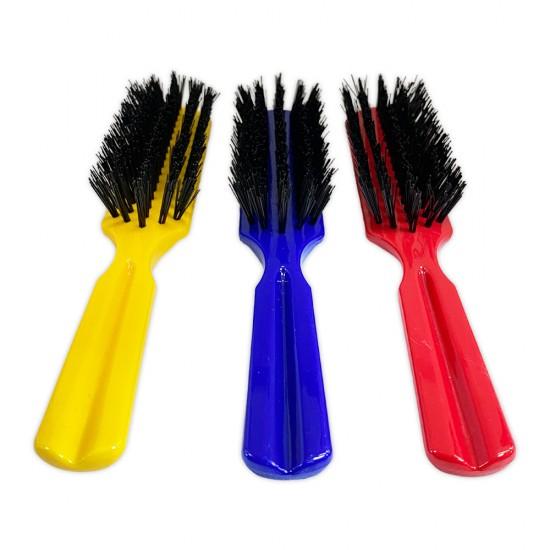Ebo Plastic Nylon Bristles Hair Brush All Types Of Hair Assort Color