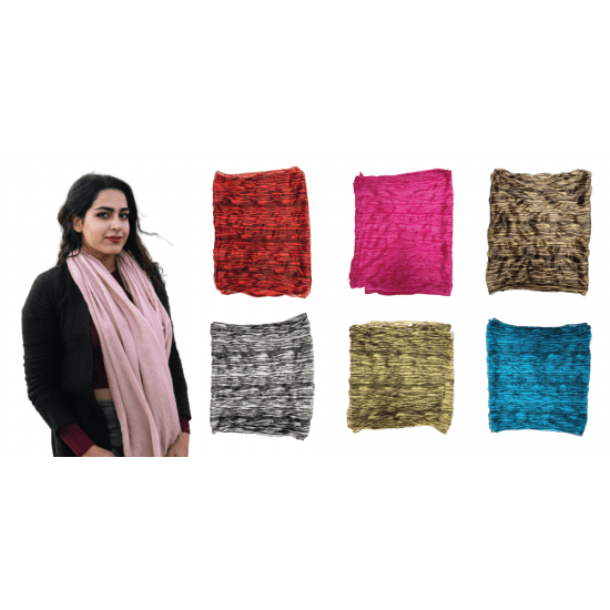 Free Shipping EBO FASHION CRINKLE SILK SCARVES FOR WOMEN 100% SILK LIGHT WEIGHT CRINKLE SCARF ALL PURPOSE USE