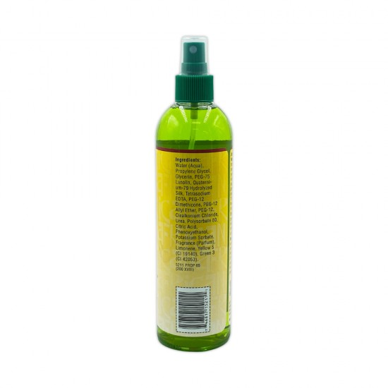 African Essence Weave Spray 6 In 1 Silky Finish For Human Hair And Weave Shine Detangles Spray 12 Oz