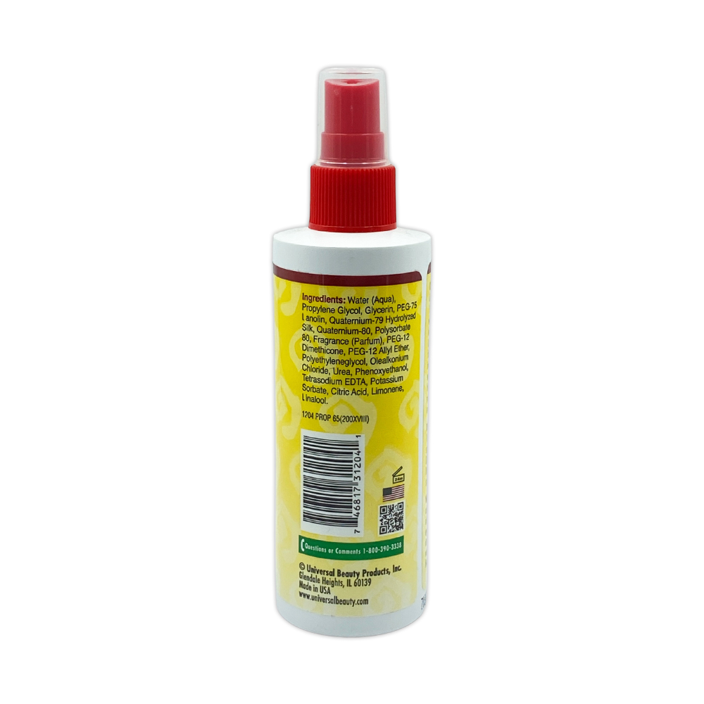 African Essence Control Wig Spray 3 In 1 Formula For Human And Synthetic Hair Moisture And Sheen 4 Oz