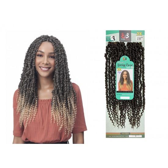 "Free Shipping Bobbi Boss Nu Locs Synthetic Hair Crochet Braid Loop 2x Spring Twist 18"""
