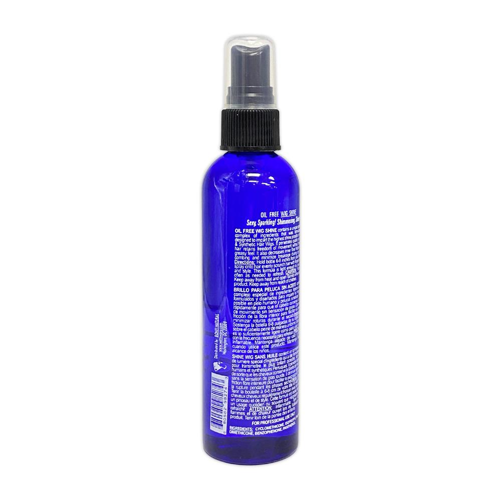 Bonfi Natural Oil Free Wig Shine Uv Protector And Vitamin E 4 Oz