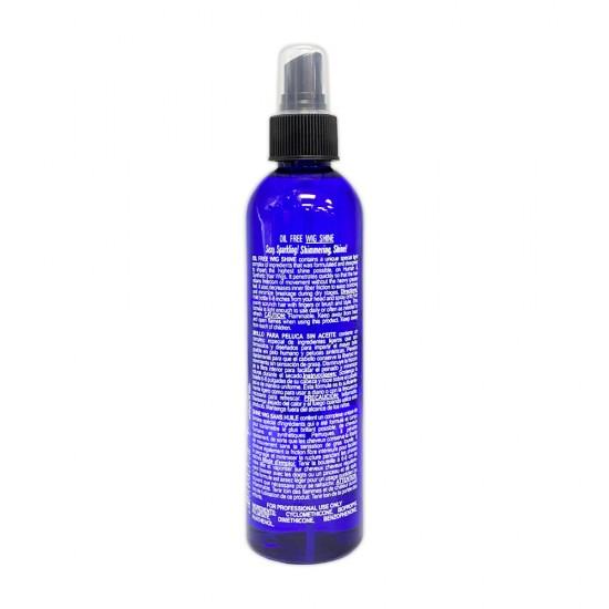 Bonfi Natural Oil Free Wig Shine Uv Protector And Vitamin E 8 Oz