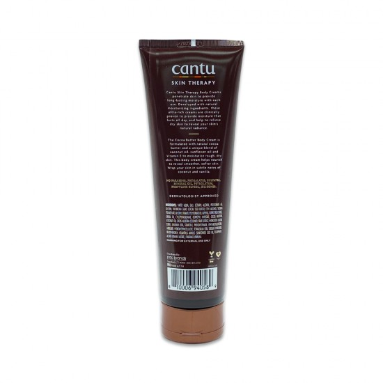 Cantu Skin Therapy Cocoa Butter Enriched With Oils And Vitamin E Hydrating Body Cream For Very Dry Skin 8.5 Oz