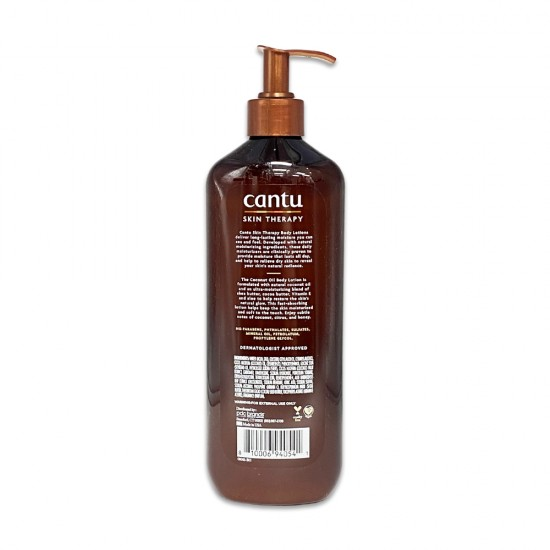 Cantu Skin Therapy Coconut Oil Enriched With Oils And Vitamin E Hydrating Body Lotion For Dry Skin 16 Oz