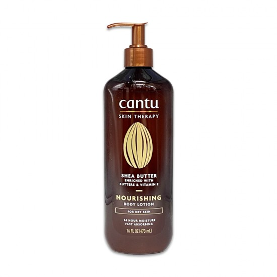 Cantu Skin Therapy Shea Butter Enriched With Oils And Vitamin E Nourishing Body Lotion For Dry Skin 16 Oz