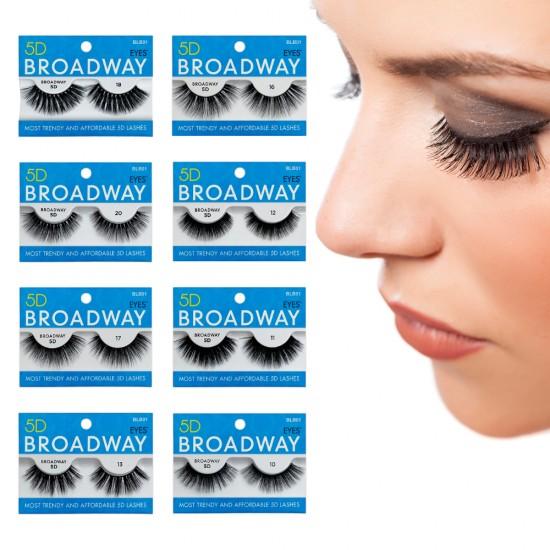 Kiss 5D Broadway Strip Eyelash 10