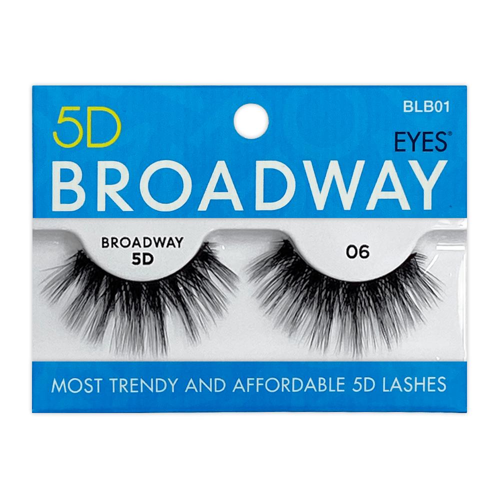 Kiss 5D Broadway Strip Eyelash 06