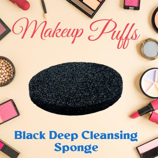 Ebo Cosmetic Makeup Sponge Black Cosmetic Sponge 2 Pcs