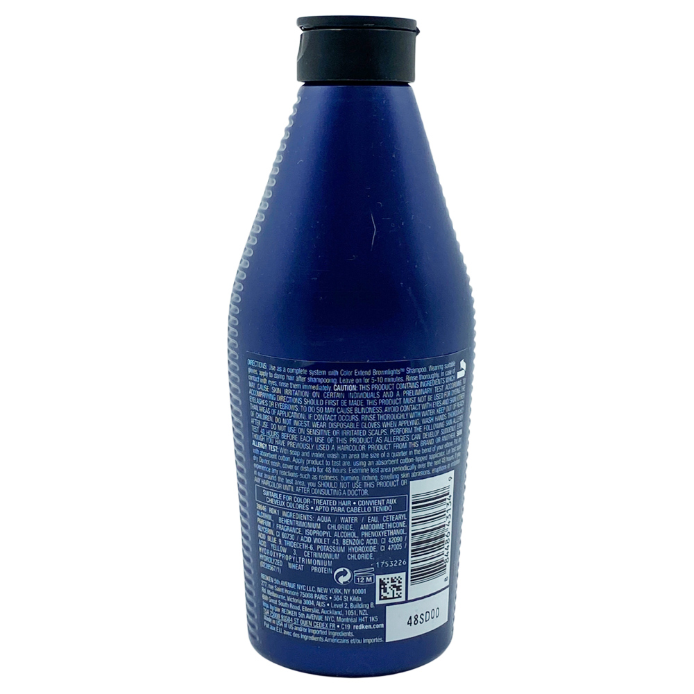 Free Shipping Redken Color Extend Brownlights Blue Toning Conditioner 8.5 Oz