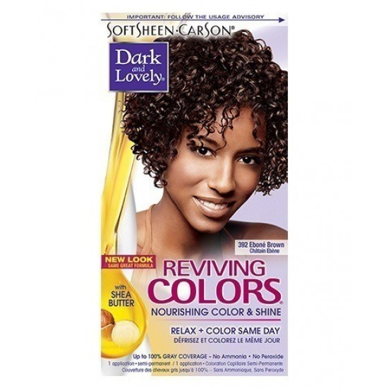 dark and lovely reviving color #392 - ebone brown