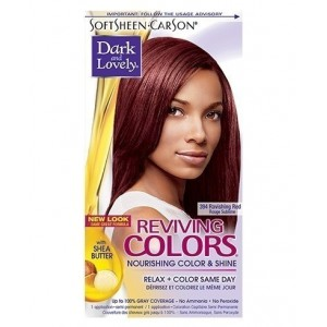 dark and lovely reviving color #394 - ravishing red