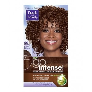 Dark And Lovely Go Intense Hair Color #64 - Dazzling Brown