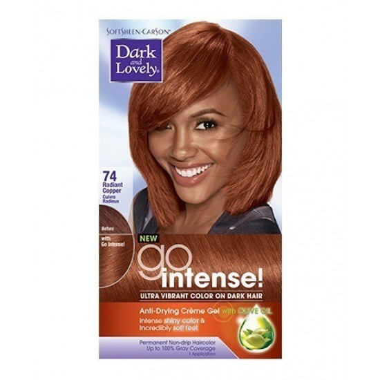 Dark And Lovely Go Intense Hair Color #74 - Radiant Copper