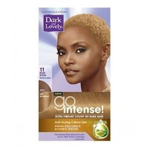 dark and lovely go intense hair color #11 - bright blonde