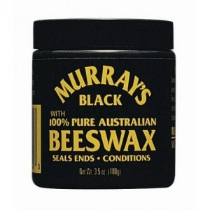 Murrays Black Beeswax 4 Oz