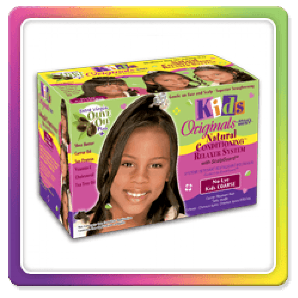 Africas Best Kids Organice Olive Oil Natural Conditioning Relaxer Kit Super