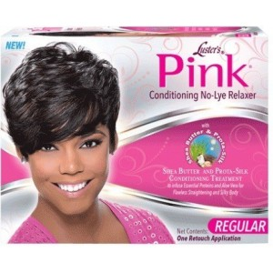 Lusters Pink No Lye Conditioning Creme Relaxer Kit Regular