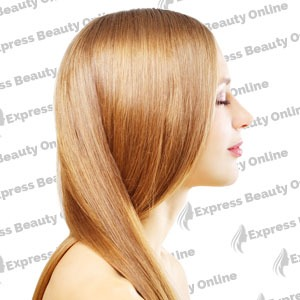 "16"" clip in - 9pcs 100%  human hair extensions - honey/ auburn (27/30)"