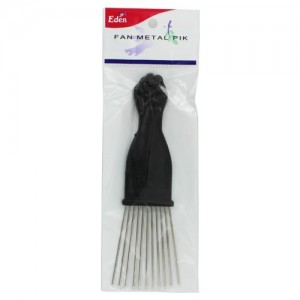 Ebo Fan Metal Fist Hair Pik Small