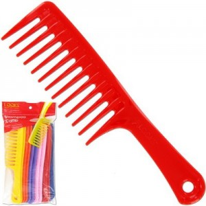 "Ebo 9.5"" Shampoo Comb Assorted"