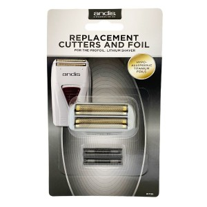 Andis Profoil Lithium Titanimum Shaver Replacment Cutters And Foil 17155