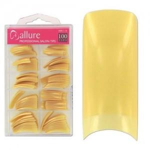 Ebo  Salon Nail Tips Metallic Gold 100