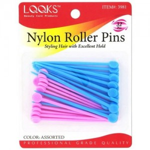 Ebo Nylon Roller Pin 32ct Asst