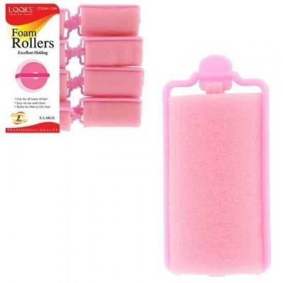 Ebo Foam Roller X-large 8ct-pk Pink