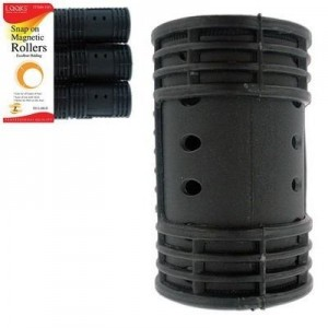 Snap Mag Roller Black 6ct