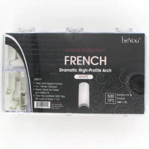 Ebo Be You French Nail 500 Tips/pk - White