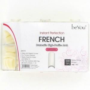 Ebo Be You French Nail 500 Tips/pk - Natural