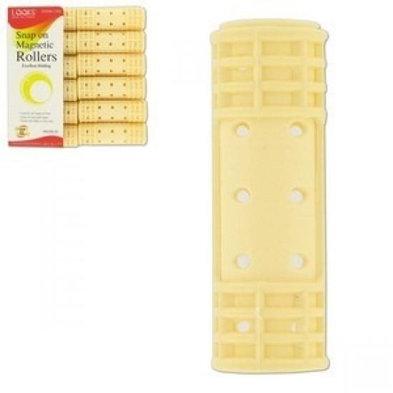 Ebo Snap Mag Roller Medium Yellow 12ct