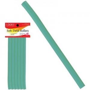 """7"""" Soft-twist Roller 6ct Light Green"""