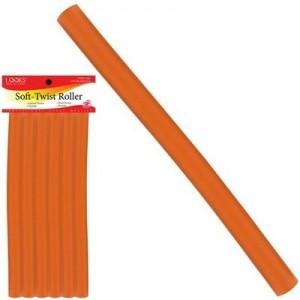 """10"""" Soft-twist Roller 6ct Orange"""