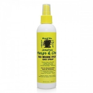 Jamaican Mango & Lime Maximum Relief No More Itch Gro Spray 8 Oz