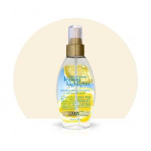 ogx sunkissed blonde lemon highlights highlight activating citrus oil